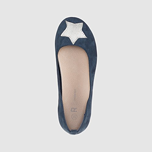 La Redoute Collections Ballerinas mit Glitzerstern Marine