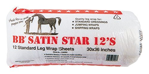BB Star Cotton Leg Wrap, 30