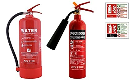 Image Unavailable Not Available For Colour 9 Litre Water Fire Extinguisher