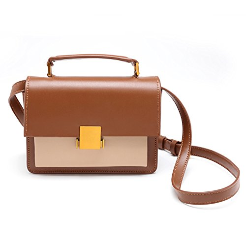 Bag Lady'S Bag With Brown Shoulder Lady'S Bag Slanted Single Bag anE81x