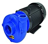 """AMT Pump 4240-98 Heavy Duty Straight Centrifugal Pump, Stainless Steel, 7-1/2 HP, 3 Phase, 230/460V, Curve F, 2"""" NPT Female Suction, 1-1/2"""" NPT Female Discharge Port"""
