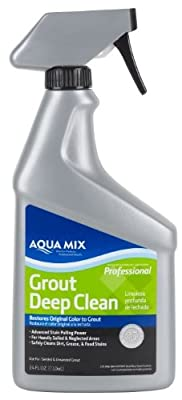 Aqua Mix 24-Ounce Grout Deep Clean Spray Bottle