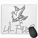 Lil Peep Mousepad Gaming Mouse Pad Natural Rubber Mouse Mat with Designs for Desktops, Computer, PC and Laptops