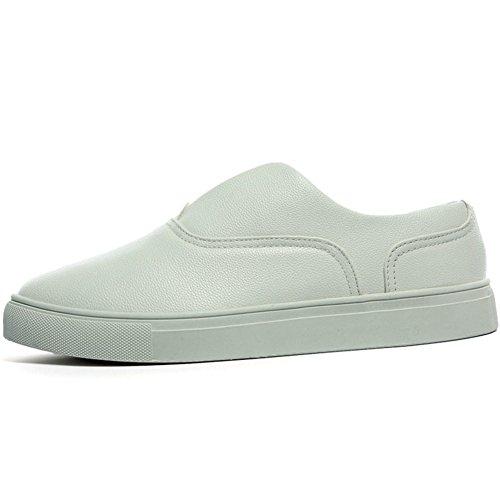 Zapatos casuales de verano/ Le Fu/Zapatos de conducción/ zapatos haba zapatos coreanos marea/Los zapatos de hombre perezoso del pedal-H Longitud del pie=25.8CM(10.2Inch) bcrl3aABI