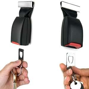 Buckle Up Seat Belt Safety Seatbelt Key Holder Rack Hook