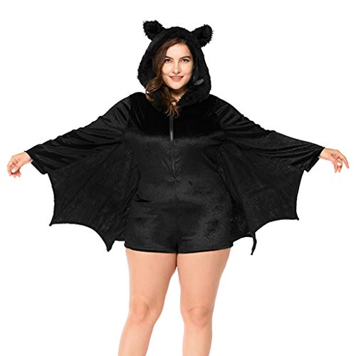 Charming House Women Bat Costume, Halloween Cosplay Sexy
