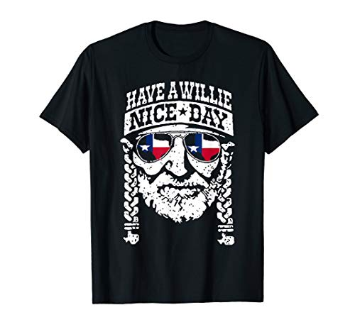(have a will.ie nice day shirt texas shirt Vintage tee )