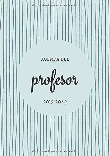 Agenda del Profesor 2019-2020: Super Agenda para los ...