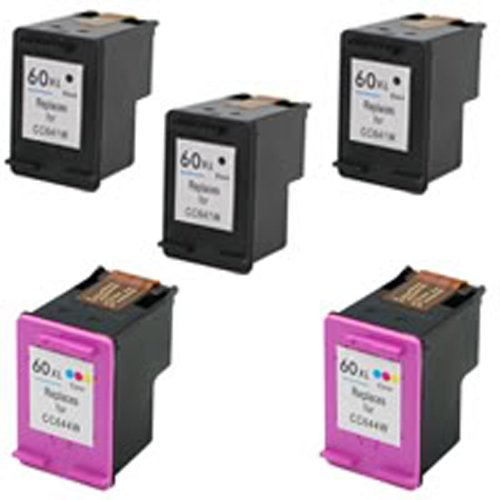 Amsahr Remanufactured Ink Cartridge Replacement for HP CC...