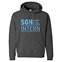 Indica Plateau Intern Seattle Grace Hospital Adult Hoodie