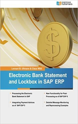 Book Electronic Bank Statement & Lockbox in SAP ERP by Lennart Ullmann (2014-11-13)