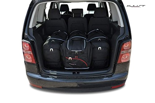 CAR BAGS AUTO-TASCHEN MASSTASCHEN ROLLENTASCHEN VW TOURAN I, 2003-2010 - KJUST