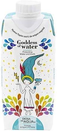Diosa del Agua - Agua en Cartón 33cl, Caja de 24 Unidades | Agua ...