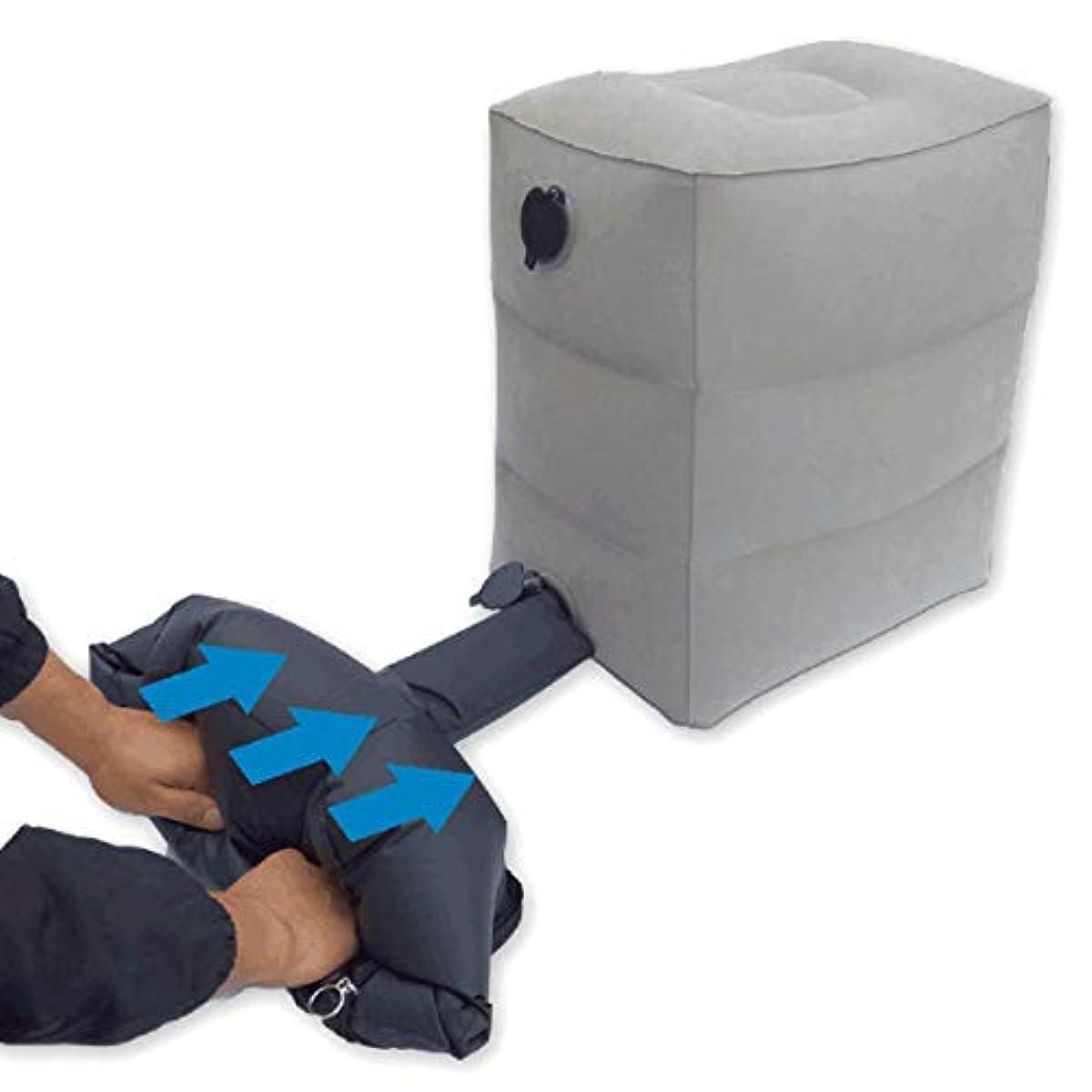 [해외] 풋 레스트족치 와 족베개 3단계의 높이 조절 아이거 비행기에 쾌적하게 잠자지는 실현차 용비행기 용방수 수납 봉투 첨부