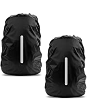 Waterproof Rain Cover for Backpack, LAMA 2 Pack Bag Rain Cover Reflective Rucksack Rain Cover for Anti-dust/Anti-Theft/Bicycling/Hiking/Camping/Traveling/Outdoor Activities