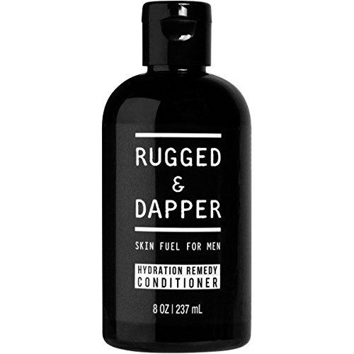 RUGGED & DAPPER – Hair Conditioner for Men – 8 oz – Essential for Moisturizing Hair & Beard – Premium Quality - Natural & Organic Ingredients – Aloe & Tea - Moisturizing Conditioner Care