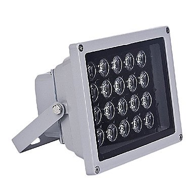 Generic-100-240V 18W LED warm white outdoor waterproof flood light