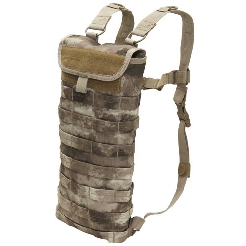 Condor HC-009 MOLLE Genuine A-TACS Hydration Bladder Carrier – A-TACS, Outdoor Stuffs