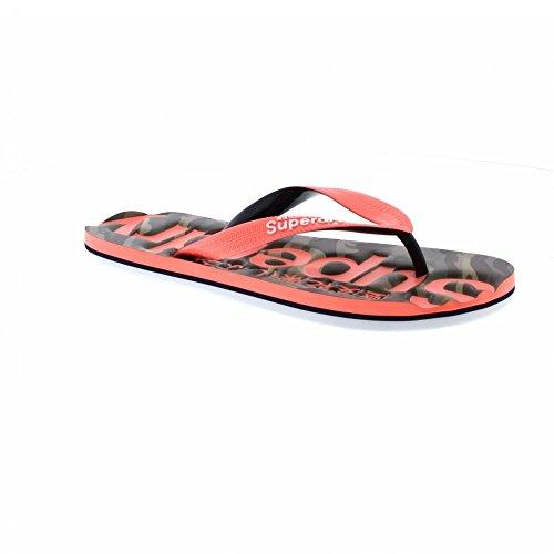 Camo Flip Tongs Classic Menthe Fluro Vert Coral Superdry Flop wZvPcxHqqT