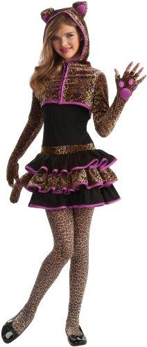 Costumes Leopard Tween (Leopard Tween Costume Brown Tween)