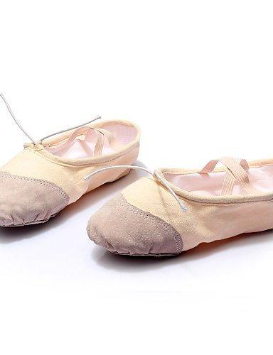 ShangYi Maßfertigung - Flacher Absatz - Leder / Leinen / Pailletten - Ballett - Damen White