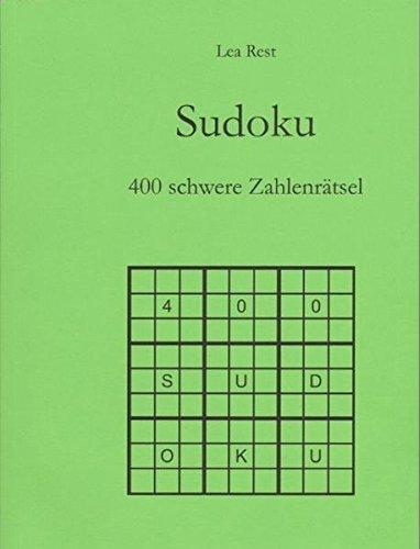Sudoku - 400 schwere Zahlenrätsel - Sudoku