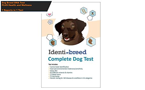 IdentiBreed The Most Complete Dog Breed Test INCLUDES Canine DNA Breed, Genetic Conditions, Food Intolerance, Stress, Hormones, Vitamins, Minerals and - Dog Foods Sample