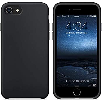 black rubber iphone 8 case