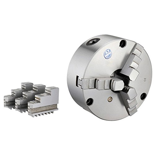 ount, Plain Back Lathe Chuck With 2 Sets Of Jaws (3800-5820) ()