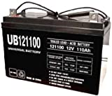 UNIVERSAL UB121000 12V, 100AH (20HR) SEALED AGM BATTERY