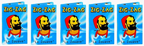 ZIG-ZAG Blue Le Zouave Slow Burning Rolling Papers for sale  Delivered anywhere in Canada