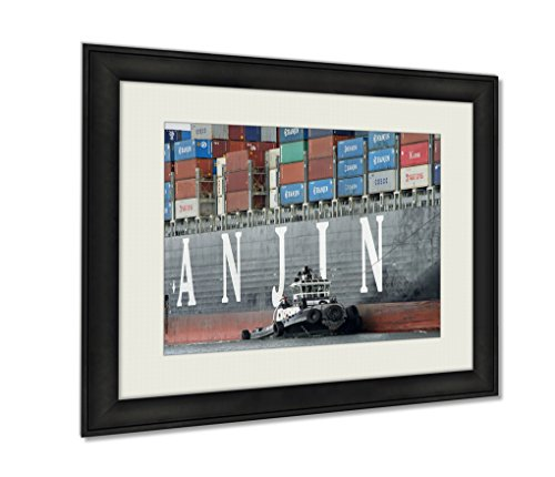 ashley-framed-prints-tugboat-zfour-assisting-hanjin-united-kingdom-to-maneuver-out-of-the-port-of-wa