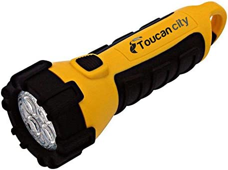 Toucan City LED Flashlight and Zircon StudSensor HD55 Stud Finder 65945