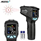 Infrared Thermometer Temperature Gun MESTEK Non-Contact Laser Digital Thermometers with Color LCD Screen