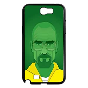 Breaking Bad Walter White Vector Artwork Samsung Galaxy N2 7100 Cell Phone Case Black toy pxf005_5761698