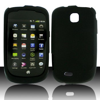TOOGOO Black Soft Silicon Skin Case Cover for Samsung Dart -