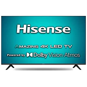 Hisense 108 cm (43 inches) 4K Ultra HD Smart Certified Android LED TV 43A71F (Black) (2020 Model) | With Dolby Vision…