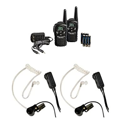 Midland LXT118VP 22-Channel GMRS with 18-Mile Range, Rechargeable Batteries, and Wall Charger Midland Radio Corporation