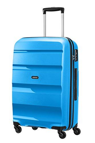 41GJGLWcOOL - American Tourister Bon Air Spinner M Maletas y trolleys, 66 cm, 53 L, Azul (Azul)