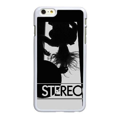 X2C39 stéréo haute résolution affiche S5E1DY coque iPhone 6 Plus de 5,5 pouces de cas de couverture de téléphone portable coque blanche IH1LKX7SC