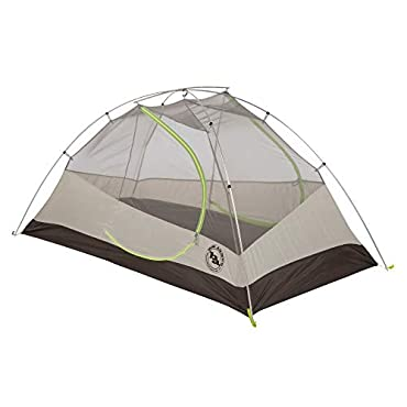 Big Agnes Blacktail 2 Person Backpacking Tent + Footprint-Black/ Green (TBT2PKG17)