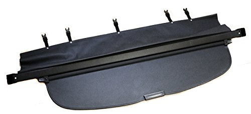 TMB Motorsports Black Cargo Cover for 2015-2018 Subaru Outback Retractable Tonneau