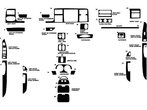 03 f250 center console - 4