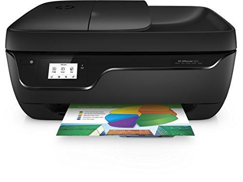 HP Officejet 3831 Multifunktionsdrucker (A4, Drucker, Kopierer, Scanner, Fax, HP Instant Ink, WLAN, USB, 4800 x 1200 dpi) schwarz