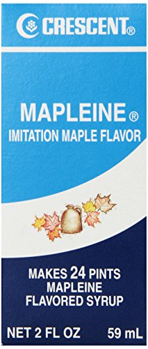 Crescent Mapleine Imitation Maple Flavor, 2 Fluid Ounce Glass Bottle (Pack of - Glasses Imitation