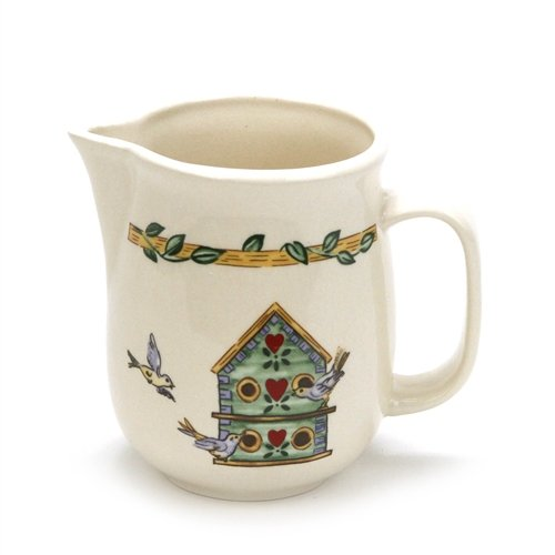 - Birdhouse by Thomson, Pottery Cream Pitcher