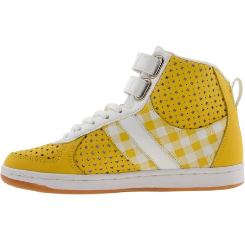 Creative Recreation Womens Dicoco (yellow / gingham / white / patent) 5gusK