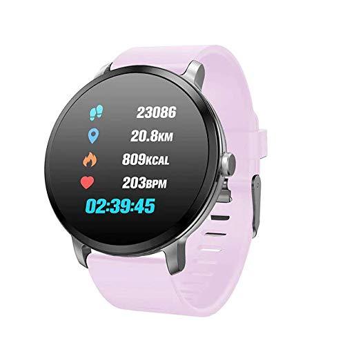 Amazon.com: LEMFO V11 Smartwatch for a Men (Light Purple ...