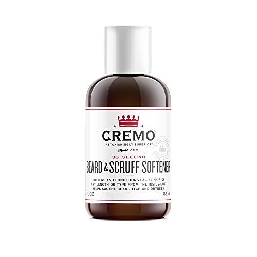 Cremo Beard & Scruff Softener 4 OZ Bottle