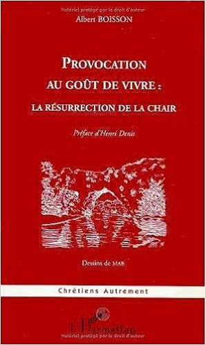 Livres gratuits Provocation au gout de vivre la résurrection de lacha epub pdf